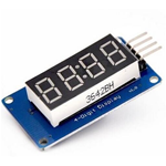 MODULO DISPLAY LED 4 DIGIT CON TM1637