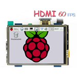 "MONITOR HDMI MPI3508 3.5""  TOUCH PER RASPBERRY"