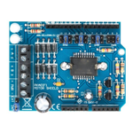 MOTOR & POWER SHIELD PER ARDUINO