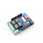 SHIELD 4 RELE' COMPATIBILE ARDUINO