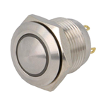 PULSANTE ANTIVAND. N.A. IP65 CON LED